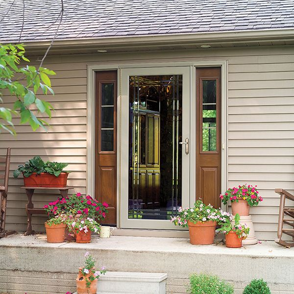 Storm Door Decoration